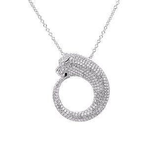 Small Round brilliant cut 6 ct diamonds pendant ne